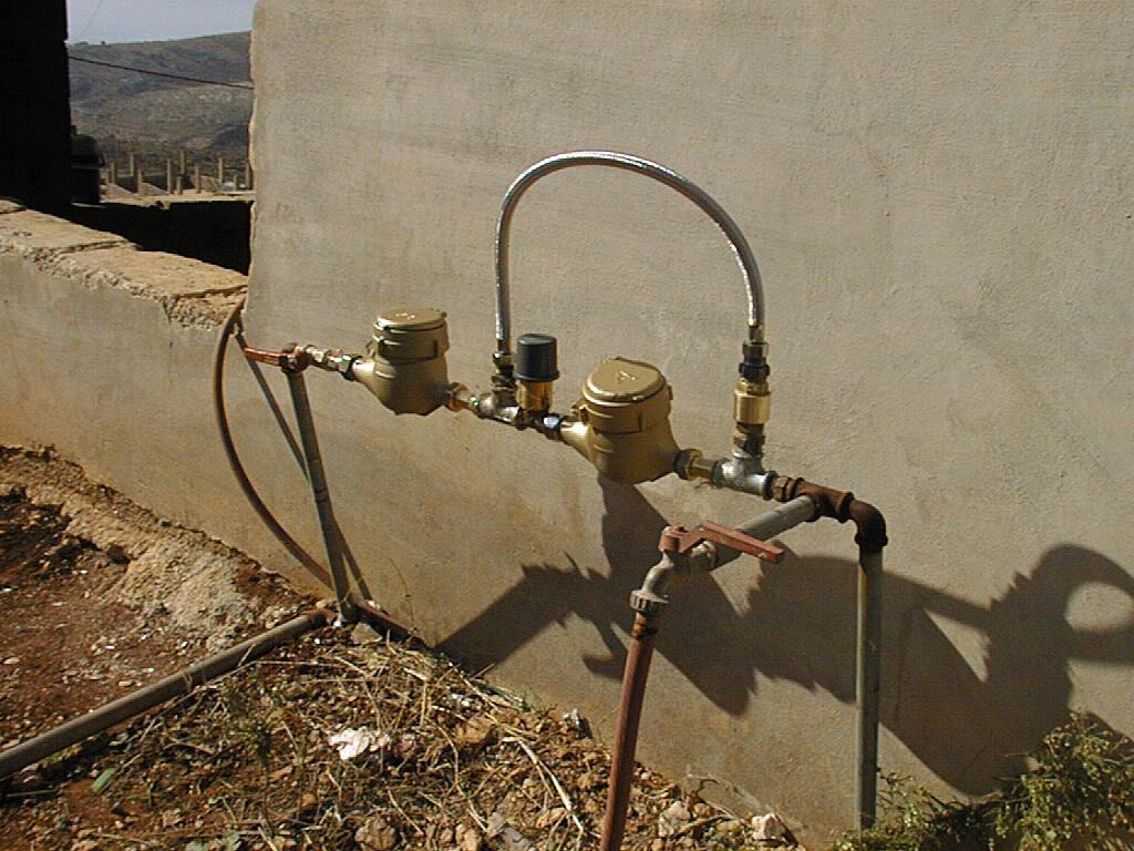 Domestic meter survey
